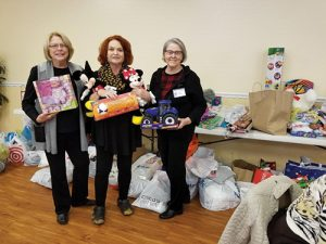 Democratic Women's Club Makes Donations To Area Organizations For The Less Fortunate