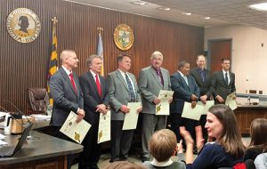 New Wicomico Council Sworn In; Cannon, Dodd Named Leaders