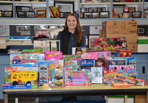 Stephen Decatur High School Senior Samantha Stephan Collects Toys For St. Jude's Hospital