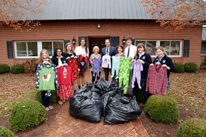 """Worcester Prep's Student Government And National Honor Society Sponsor """"Pajama Drive"""""""