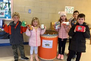 Students And Staff At Ocean City Elementary School Collect Nonperishable Food Items For Maryland Food Bank