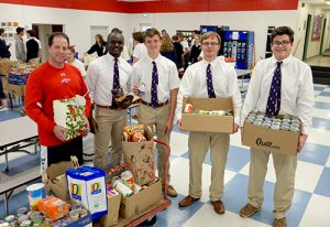 Worcester Prep Students Collect Canned Goods, Non-Perishable Food, And Monetary Donations For Annual Food Drive