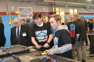 Tool Company Overhauls Worcester Tech's Welding Shop