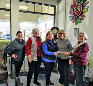 Democratic Women's Club Make $1,175 Donation To Diakonia Food Pantry