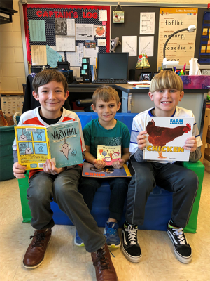 OC Elementary Third Graders Enjoy Reading Books With Their Kindergarten Reading Buddies