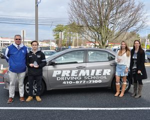 SD High School Sophomore Caleb Myers And Freshman Georgia Oglesby Named Premier Driving School Athletes Of The Month