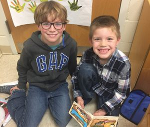 OC Elementary Kindergarten And Third Grade Students Meet Each Week For Buddy Readers