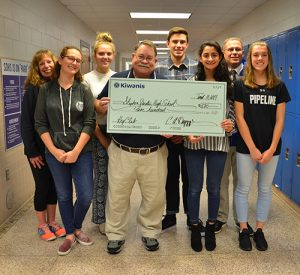 Stephen Decatur High School Key Club Receives $500 Donation From Kiwanis Club