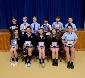 Worcester Prep Presents Middle School Basketball Sports Awards