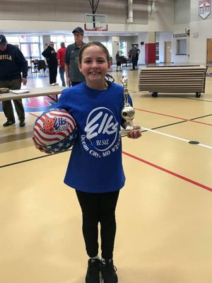 Ocean City Elks Holds Annual Hoops Shoot Competition