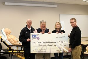 Paramedic Foundation Presents $99K Grant To OCFD