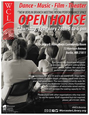Berlin Library Open House To Spotlight Performance Space