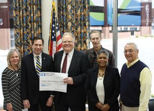 Rotary Club Of Salisbury Thanks First Shore Federal Savings & Loan For $5,000 Contribution For The 2018 Governor's Challenge Basketball Tournament