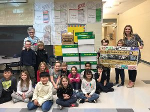Ocean City Elementary Second Grade Class Collect Over 600 Canned Goods