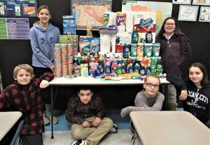 Berlin Intermediate School Sixth Graders Collect Supplies For Worcester County Humane Society