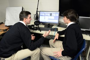 Upper School Students Host Talk Shows On Worcester Prep's Radio Station