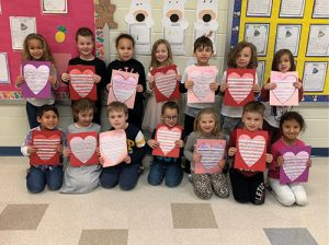 Ocean City Elementary Participates In Valentines For Veterans Program