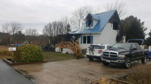 Family Displaced From Home After Fire