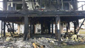 Fire Destroys Snug Harbor Home