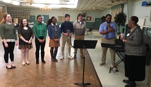 Wicomico County Visual And Performing Arts Students Entertain The Wicomico Retired Educational Personnel