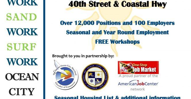 Ocean City Job Fair Set For Saturday