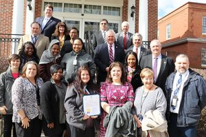 Worcester County Commissioners Present Proclamation Recognizing March As National Social Work Month
