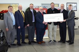 i.g. Burton Company Presents $2,500 Check To Worcester County Education Foundation