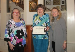 General Levin Winder Chapter Of The Daughters Of The American Revolution Honor Jeanne Donaldson Townsend