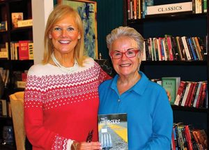 Greyhound Owner Susan Ayres Wimbrow Welcomes New Author Ruby Dillion To Her First Book Signing