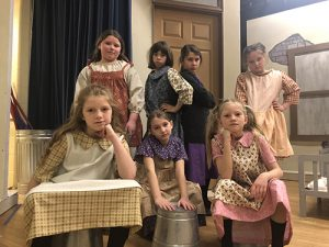 Most Blessed Sacrament Catholic School Intermediate Students Rehearse Annie, Jr. For Upcoming Performances
