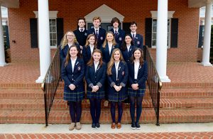 Twelve Worcester Prep Students Inducted Into International Thespian Society