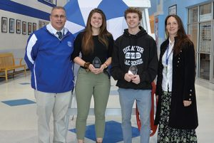 Stephen Decatur High School Seniors Grace Beres And Kevin Beck Named Premier Driving School Athletes Of The Month