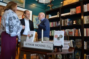 Author Discusses Biography At Berlin Book Signing Event