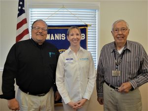 Mary Beth Gardner, Physical Therapist From FYZICAL Therapy And Balance Center Guest Speaker At Kiwanis Club Of Greater Ocean Pines-Ocean City Meeting