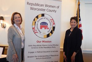 Melody Clarke, Senior Regional Coordinator For Heritage Action for America, Guest Speaker At Republican Women Of Worcester County Meeting