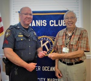 Kiwanis Club Of Ocean Pines-Ocean City Receives Civilian Response To Active Shooter Events Training