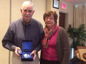 Cliff And Donna Berg Honored By Ocean City Berlin Rotary Club As Level Two Major Donors