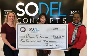 SoDel Cares Donates $5,000 To Pathways To Success