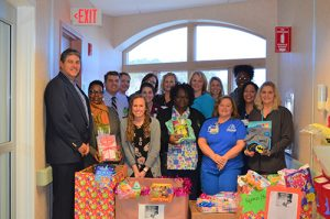 Hospital ICU Donates To Pajama Program