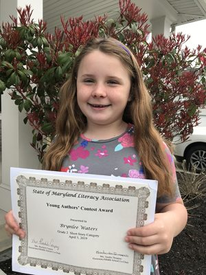 OC Elementary Second Grader Wins First Place In State Contest