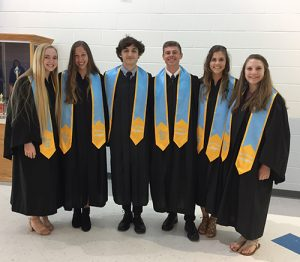 32 Stephen Decatur High School Students Inducted Into Mu Alpha Theta Honor Society