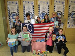 Berlin Intermediate School's Fifth Grade Girls Kindness Club Adopts Frank Candeloro Of The U.S. Air Force And His Platoon