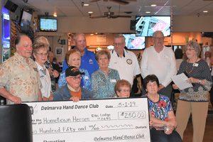 Delmarva Hand Dance Club Honor World War II And Korean War Veteran Francis Russell