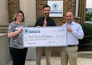 Bank Of Delmarva Donates $500 To Good Ole Boy Foundation