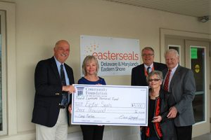 Easterseals Receive $3,000 Donation From The David Larmore Memorial Fund