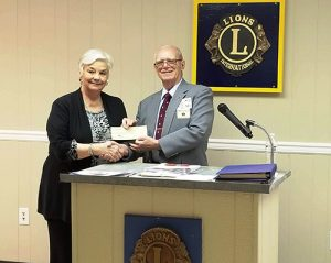 Play It Safe Program Receives $1,000 Check From Ocean City Lions Club