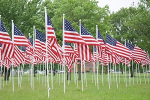 Flags For Heroes Returns Saturday