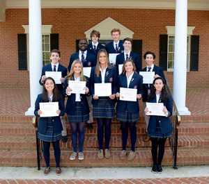 Cum Laude Society At Worcester Preparatory School Welcomes 11 New Members