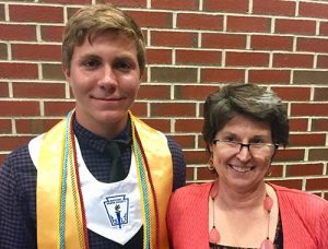 Snow Hill High School Senior Michael Larger Presented With 2019 Jesse Klump Memorial Scholarship