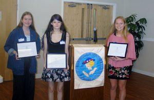Women's Club Of Ocean Pines Announces Recipients Of College Scholarships